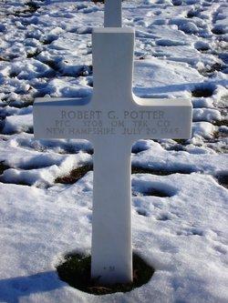 PFC Robert G Potter