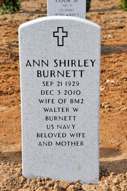 Ann Shirley <I>Shorten</I> Burnett