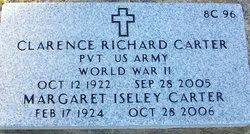Pvt Clarence Richard Carter