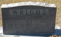 Lila <I>Simmons</I> Wright