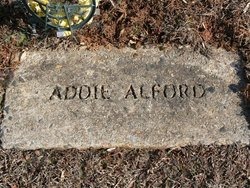 Addie Elizabeth <I>Williams</I> Alford