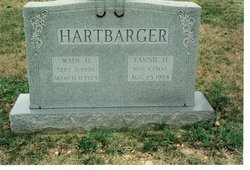 "Courtney Frances ""Fannie"" <I>Hodges</I> Hartbarger"