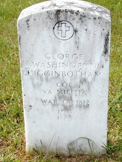 Col George Washington Higginbotham