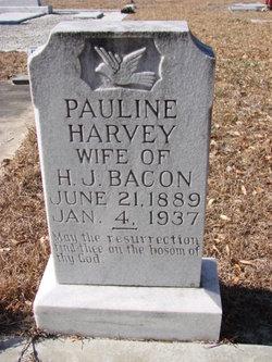Pauline <I>Harvey</I> Bacon