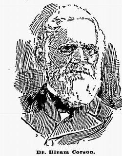 Dr Hiram Corson