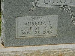"""Aurelia I. """"Nuby"""" Deutsch"""