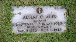 2LT Albert O Ades