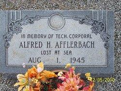 Corp Alfred H. Afflerbach