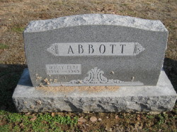 Dolly <I>Leaf</I> Abbott