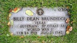 1LT Billy Dean Brundidge