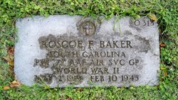 Pvt Roscoe F Baker