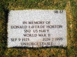 Donald Laverde Horton