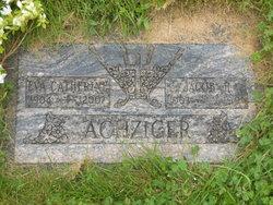 """Eva Catherine """"Peggy"""" <I>Stromberger</I> Achziger"""