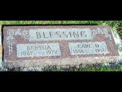 Sophie Bertha Augusta <I>Maassen</I> Blessing