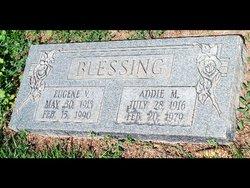 Addie Martha <I>Kyle</I> Blessing