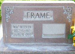 William Melvin Frame