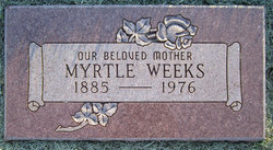 Myrtle <I>Dunham</I> Weeks