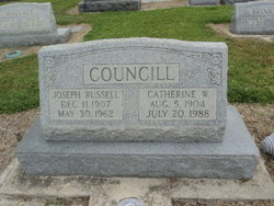 Catherine W Councill