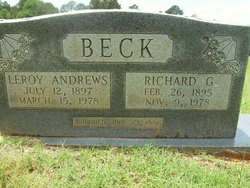 Leroy <I>Andrews</I> Beck