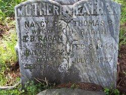 Nancy Eliza <I>Trantham</I> Ragan