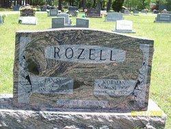 Pansy Marie <I>Tannehill</I> Rozell