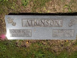 Louis H Atkinson, Sr