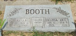 "Delpha Louella ""Det"" <I>Burkhart</I> Booth"