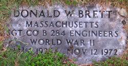 Donald W Brett