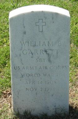 William B Garrett
