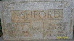 Sarah E <I>Tucker</I> Ashford