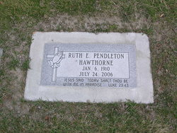 Ruth Elizabeth <I>Church</I> Hawthorne