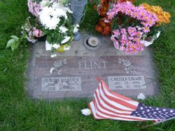 """Jemima """"Mina"""" <I>Webster</I> Flint"""
