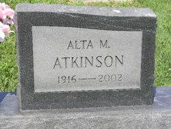 Alta M. <I>Wollard</I> Atkinson