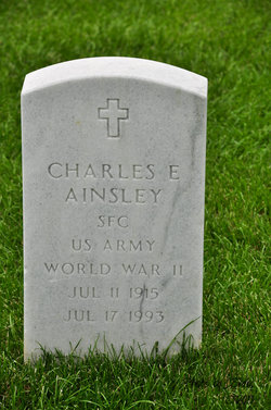Charles E Ainsley