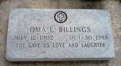 Oma Ellen <I>Jeffords</I> Billings