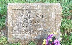 Flora Ann Dorothy <I>Ware</I> McKennon