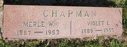 Merie W Chapman
