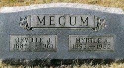 Myrtle Alice <I>Johnson</I> Mecum
