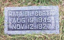 "Martha Lavina ""Mattie"" <I>Roebuck</I> Curtis"