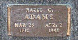 Hazel G Adams