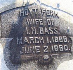 Hoyt <I>Fenn</I> Bass