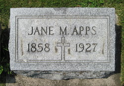 Jane Ann <I>Matson</I> Apps