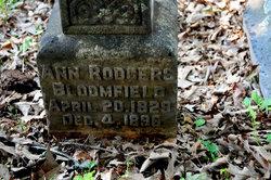 Ann <I>Rodgers</I> Bloomfield