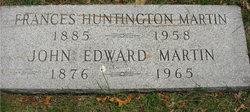 Mary Frances <I>Huntington</I> Martin