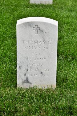 Thomas C Simms, Sr