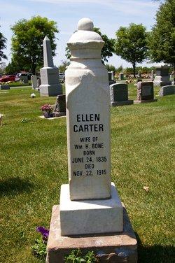 Ellen Mary <I>Carter</I> Bone