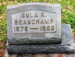 """Mary Ursula """"Sula"""" <I>Kelley</I> Beauchamp"""