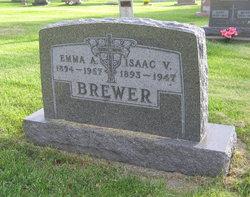 "Anna Marie ""Emma"" <I>Meurer</I> Brewer"