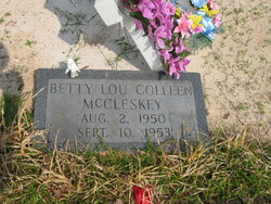 Betty Lou Colleen McCleskey