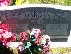 Julia Ann <I>Poulson</I> Osborn